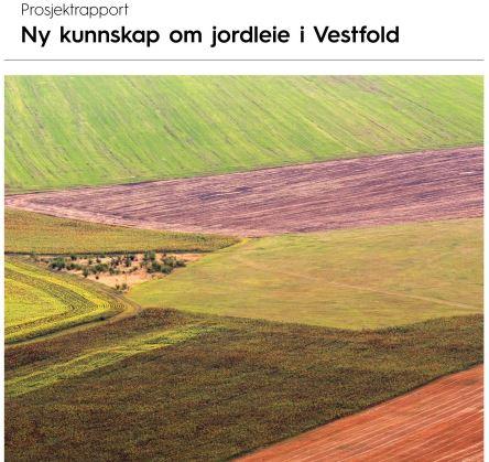 Jordleierapport forside