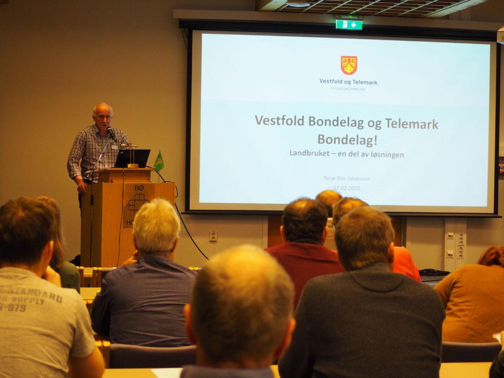 Organisasjonssjef i Telemark Bondelag, Jan Thorsen