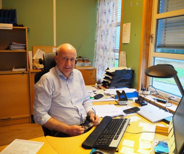 Sjefen på fylkeskontoret, Jan Thorsen, er fornøyd med innsatsen til ververne.
