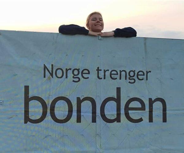 Klar melding fra Borre og Undrumsdal Bondelag: Norge TRENGER bonden. Uansett hvor lite Erna forstår det. Uansett hvor enkelt det er å tro at vi