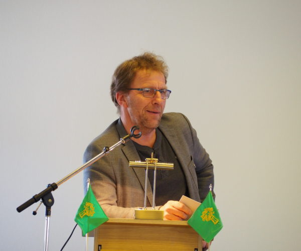 Thorleif ble valgt som leder i Vestfold Bondelag i 2015